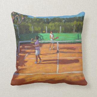 Tennis üben Kappe d'adge Frankreich 2013 Kissen