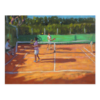 Tennis üben Kappe d'adge Frankreich 2013 Postkarte