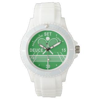 Tennis-Uhr Armbanduhr