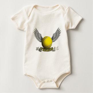 Tennis wings A Baby Strampler