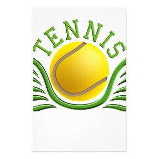 tennis wings briefpapier