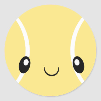 Tennisball Emoji Aufkleber