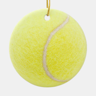 Tennisball Keramik Ornament