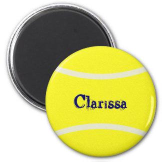 Tennisball-Magnet Runder Magnet 5,7 Cm