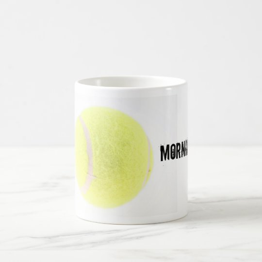 Tennisball, Morning-Star! Kaffeetasse