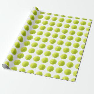 Tennisball-Packpapier Geschenkpapier
