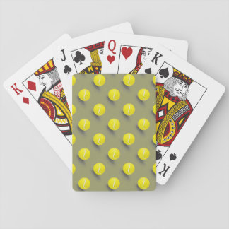 Tennisball, Tennisspieler Spielkarten