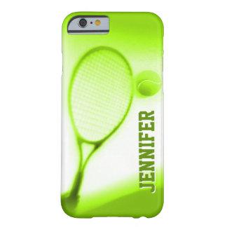 Tennisball- und Schlägersport grünt iPhone 6 Barely There iPhone 6 Hülle