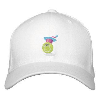 Tennisballcharakter Bestickte Baseballkappe