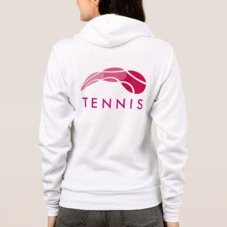 Tenniskleidung | der Frauen trägt Hoodie mit Logo