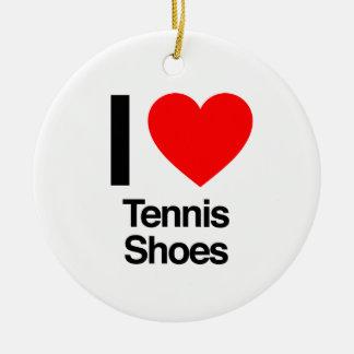 Tennisschuhe der Liebe I Keramik Ornament