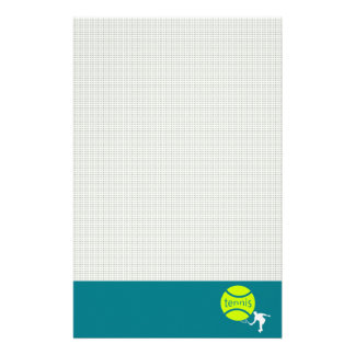 Tennisspieler Briefpapier