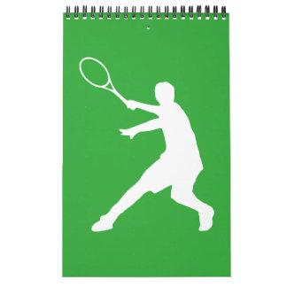 TennisWandkalender für Spieler, Trainer und Fan Wandkalender