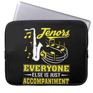 Tenor-Sänger jeder ist Begleitung Laptopschutzhülle
