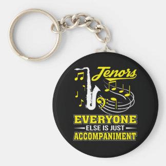 Tenor-Sänger jeder ist Begleitung Schlüsselanhänger