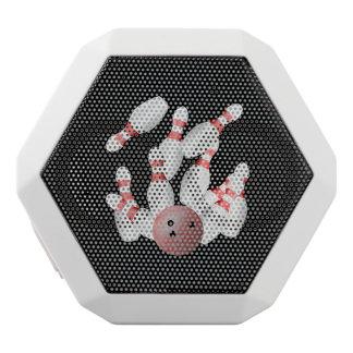 Tenpin-Bowling Streik Weiße Bluetooth Lautsprecher