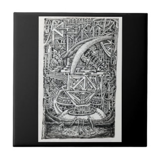 Tentakel-Behälter durch Brian Benson Fliese