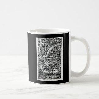 Tentakel-Behälter durch Brian Benson Kaffeetasse