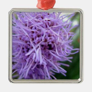 Tentakel-Spinnen-Veilchen-Blume Silbernes Ornament