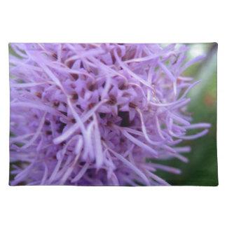 Tentakel-Spinnen-Veilchen-Blume Stofftischset