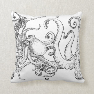 Tentalce - Octopus - Kraken - Pillow Kissen