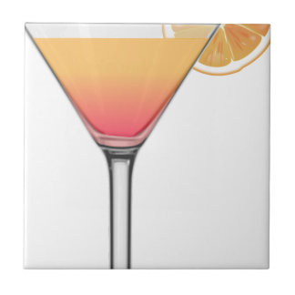 Tequila-Sonnenaufgang-Cocktail Fliese