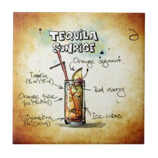 Tequila-Sonnenaufgang-Cocktail-Rezept Fliese