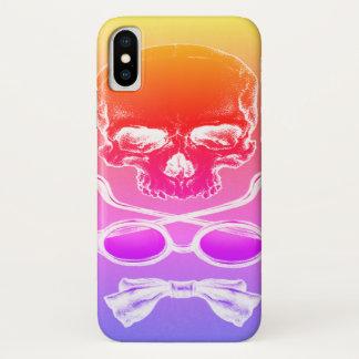 Tequila-Sonnenaufgang-Schädel-Zeit-Fall iPhone X Hülle
