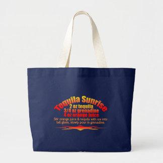 Tequila-Sonnenaufgangtasche - wählen Sie Art u. Jumbo Stoffbeutel