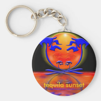 Tequila-Sonnenuntergang Schlüsselanhänger