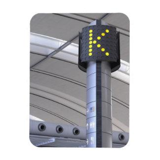 Terminalzeichen Toronto Pearson International Flexibler Magnet