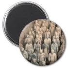 Terrakotta-Armee Runder Magnet 5,1 Cm