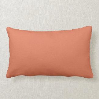 Terrakotta-Farbe 1 Zierkissen