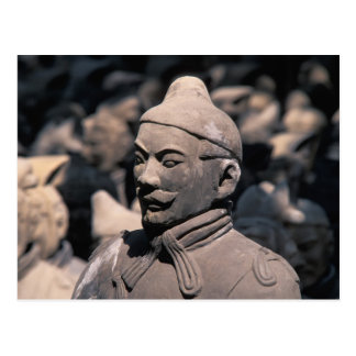 Terrakotta-Krieger im Kaiser Qin Shihuangs 2 Postkarten
