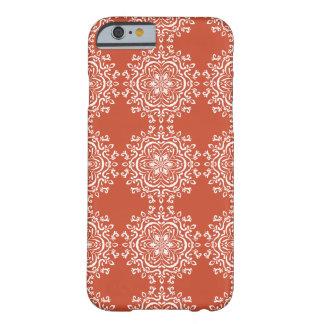 Terrakotta-Mandala Barely There iPhone 6 Hülle