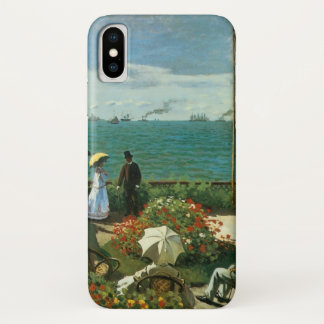 Terrasse an der Küste durch Claude Monet iPhone X Hülle