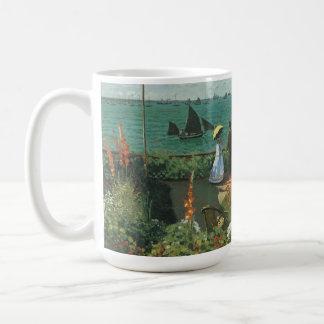 Terrasse an der Küste durch Claude Monet Kaffeetasse