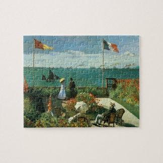 Terrasse an der Küste durch Claude Monet Puzzle