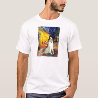 Terrasse-Café - Borzoi T-Shirt