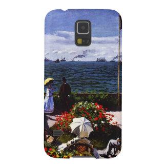 Terrasse Claudes Monet-The bei Sainte-Adresse Galaxy S5 Cover