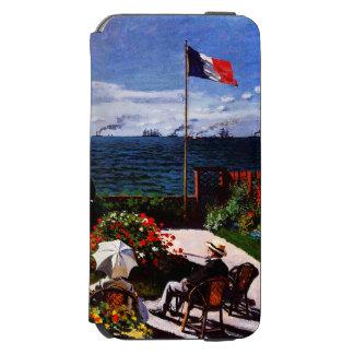 Terrasse Claudes Monet-The bei Sainte-Adresse Incipio Watson™ iPhone 6 Geldbörsen Hülle