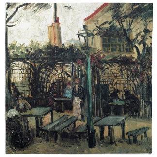 Terrasse eines Cafés auf Montmartre La Guinguette Serviette