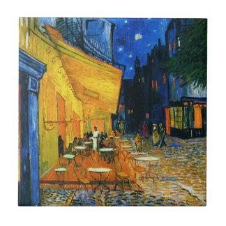 Terrasse-Fliese Van Gogh Café Kleine Quadratische Fliese
