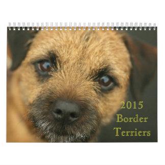 Terrier-Kalender der Grenze2015 Abreißkalender