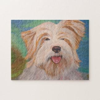Terrier-Porträt Puzzle