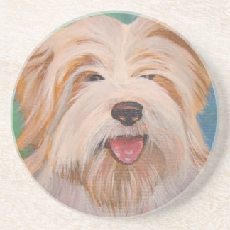 Terrier-Porträt Untersetzer