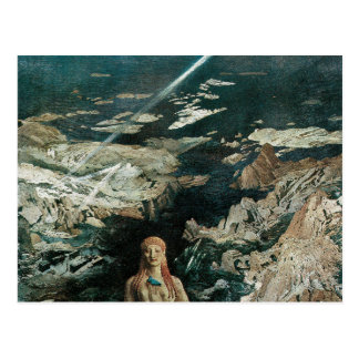 Terror Antiquus, 1908 durch Leon Bakst Postkarte