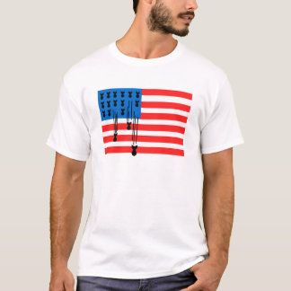 Terror Fahne USA T-Shirt