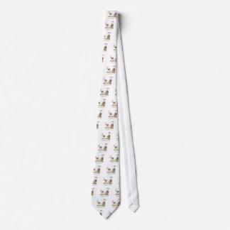 Terrorcatta, Ruhe bei der Unterhaltung, tony Bedruckte Krawatten