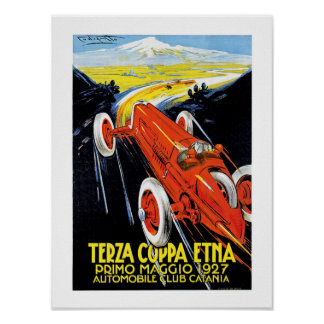 Terza Coppa Ätna Poster